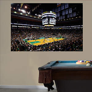 Boston Celtics Arena Mural Fathead Wall Decal